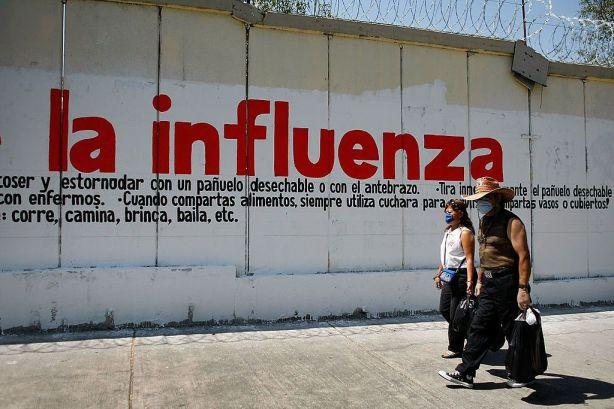 Swine Flu Fears Spread Throughout Mexico